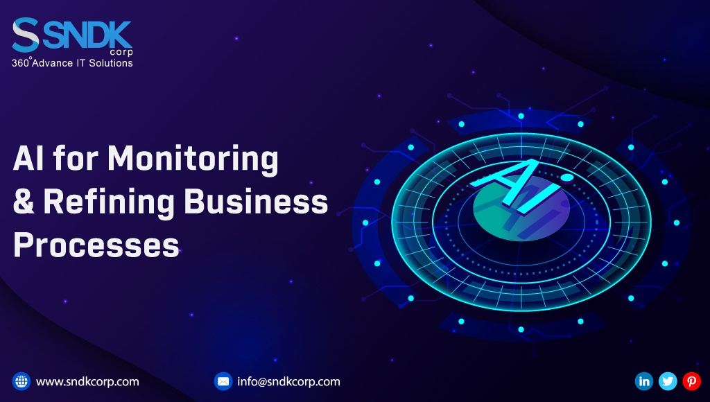 AI for Monitoring and Refining Business Processes